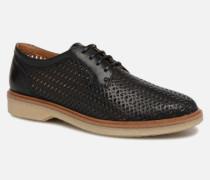 Darwin Classic Sauvage Schnürschuhe in schwarz