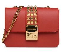 Amalfi Print Handtasche in rot