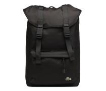 FLAP BACKPACK Rucksäcke für Taschen in schwarz
