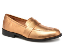 Moccs Slipper in goldinbronze