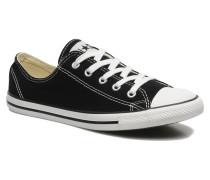 All Star Dainty Canvas Ox W Sneaker in schwarz