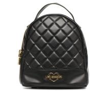 Mini Super Quillted Backpack Rucksäcke für Taschen in schwarz