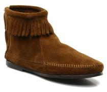BACK ZIPPER BT Stiefeletten & Boots in braun