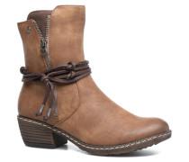 Fania K1467 Stiefeletten & Boots in braun