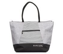 SHOPPER ESSENTIALS Handtasche in grau