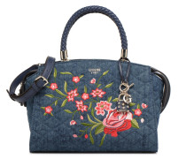 Heather Satchel Handtasche in blau