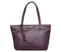 Cabas Eden Zippé Handtasche in lila