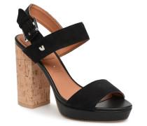 KIRSTEN Sandalen in schwarz