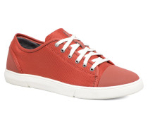 Lander Cap Sneaker in rot