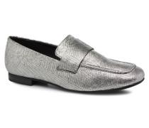 EVELYN in silver Slipper silber