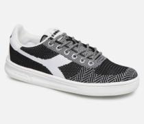 B.Elite Weave W Sneaker in schwarz