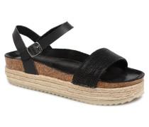 48073 Sandalen in schwarz