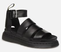 Clarissa II Sandalen in schwarz