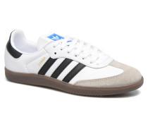 Samba Og Sneaker in weiß