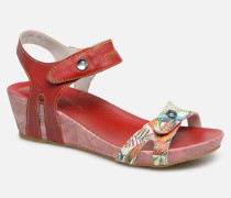 BELINDA 029 Sandalen in rot