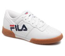 Original fitness logo Sneaker in weiß
