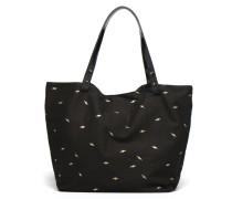 Cabas Toile Clea Handtasche in schwarz