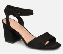 onlAMANDA HEELED SANDAL Sandalen in schwarz