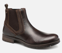 Jack & Jones JFWCARSTON COMBO CHELSEA Stiefeletten Boots in schwarz