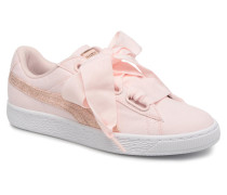 Basket Heart Canvas Wn's Sneaker in rosa