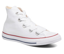 Chuck Taylor All Star Big Eyelets Canvas Hi Sneaker in weiß