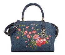 Heather Satchel Handtasche in blau