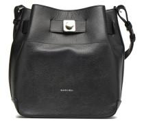 MERCER Seau Handtasche in schwarz