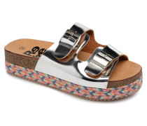 64385 Clogs & Pantoletten in silber
