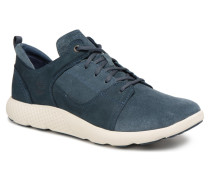 FlyRoam Leather Oxford Sneaker in blau