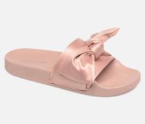 Silky Sandal Clogs & Pantoletten in rosa