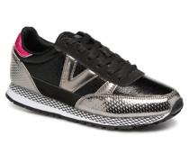 Deportivo Ciclista Metal Sneaker in schwarz
