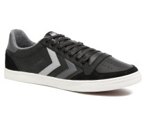 Slimmer Stadil Duo Oiled Low Sneaker in schwarz