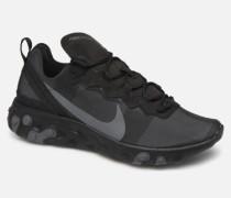 React Element 55 Sneaker in schwarz