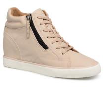 STAR WEDGE Sneaker in beige