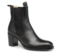 Mona 7 New Boot Elast Stiefeletten & Boots in schwarz