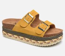 49052 Clogs & Pantoletten in gelb