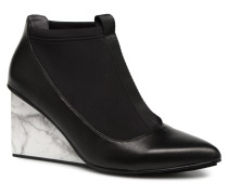 Solid Luna Hi Stiefeletten & Boots in schwarz