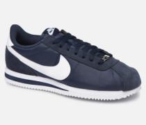 Cortez Basic Nylon Sneaker in blau