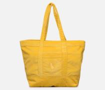 PP TOTE CORDUROY Handtasche in gelb