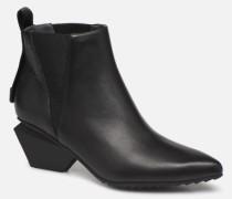 Jacky Tek Bootie Mid Stiefeletten & Boots in schwarz