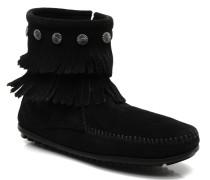 DOUBLE FRINGE BT Stiefeletten & Boots in schwarz