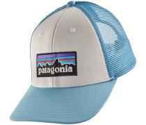 P6 Logo LoPro Trucker Cap weiß blau