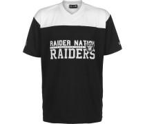 NFL tacked Wordmark O Oakland Raider Herren T-hirt chwarz