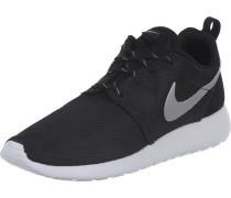 Roshe One W Schuhe schwarz silber