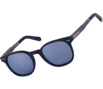 Pottenstein matte Sonnenbrille schwarz braun