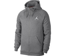 Jupan Zip Herren Hooded Zipper grau eliert