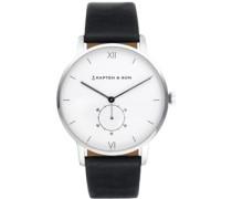 Heritage Silver Uhr schwarz