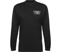 Full Patch Back Longsleeve schwarz