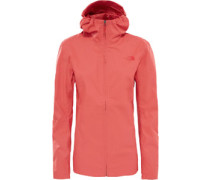 Tanken W Regenjacke Damen orange rot