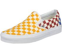 Classic Slip-On Schuhe gelb rot blau
